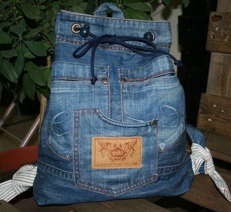 Рюкзак со шнурками