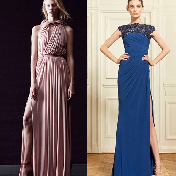 летние длинные платья