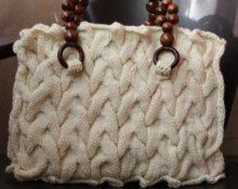вязаная сумка своими руками