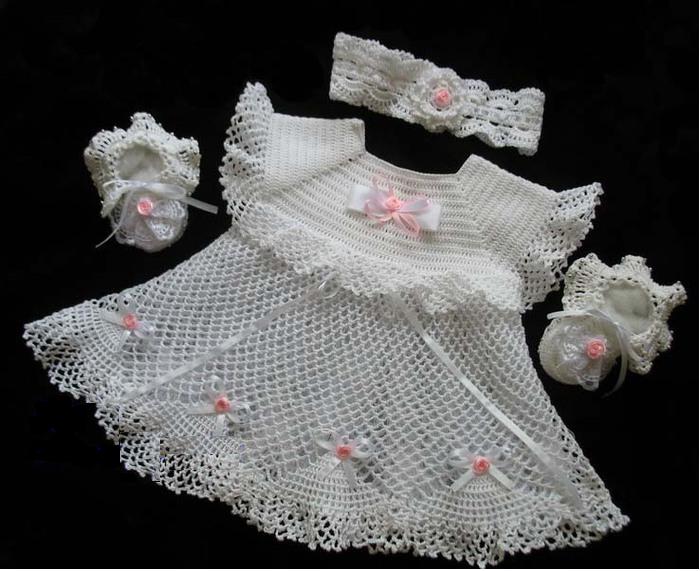 расклешённое платье для девочки