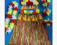 гавайская юбка своими руками