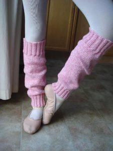 как сделать гетры на ноги для занятий