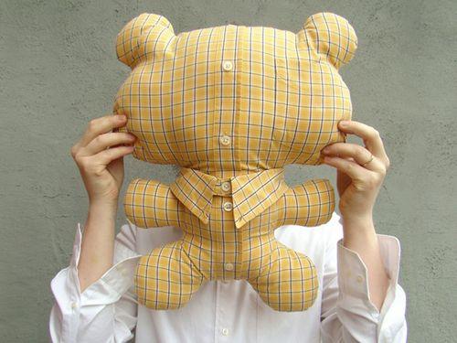 игрушка из рубашки