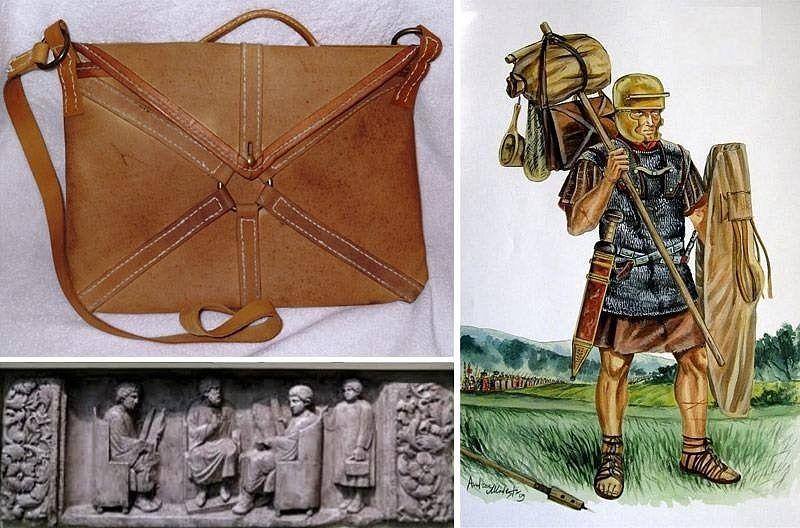 Сумка за плечами до портфеля