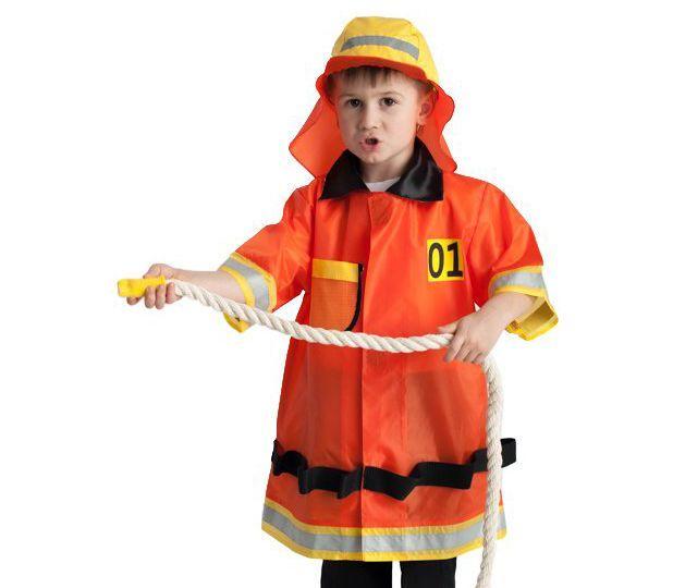 Детский костюм пожарного 3