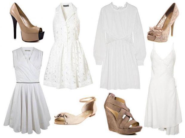типы обуви по типу платья