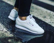уход за белыми кроссовками