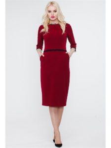 какие колготки одеть с бордовым платьем