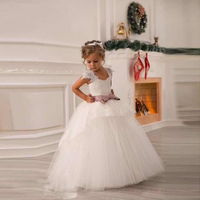 "Белая юбка ""американка"" вечерний вариант"