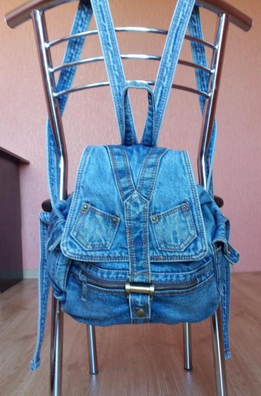 Рюкзак на стуле