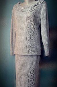 комплект со свитером