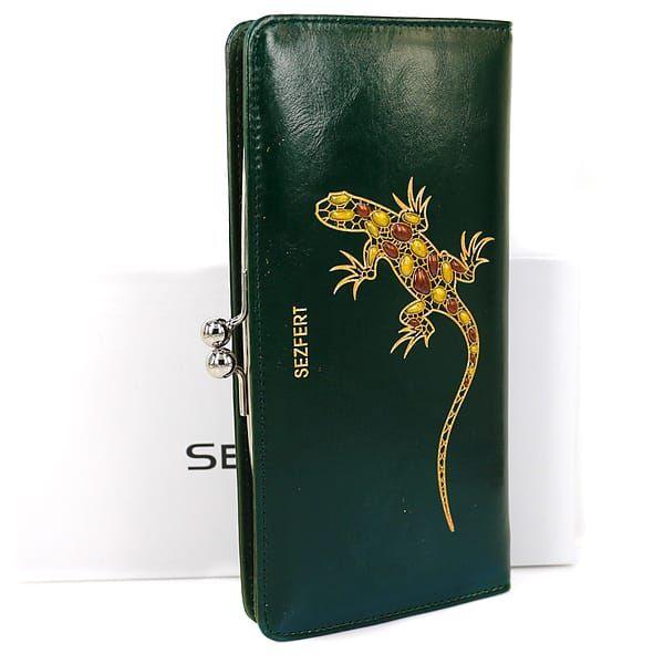 Зеленый кошелек