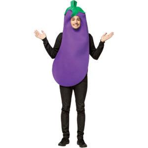 костюм баклажана