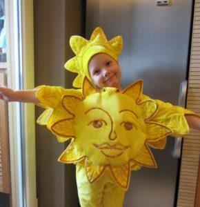 костюм солнышка