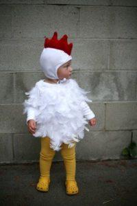 костюм цыплёнка