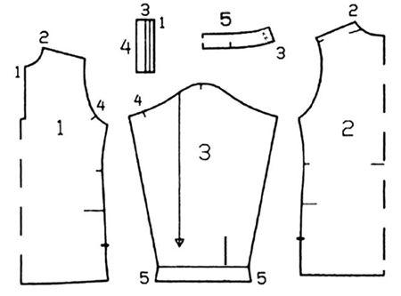 выкройка рубахи