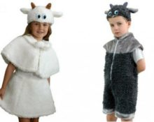 костюм козы для девочки своими руками