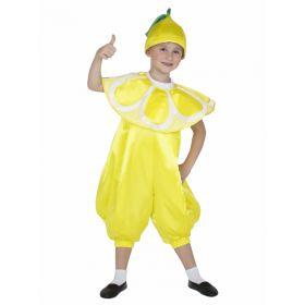 костюм лимона для мальчика своими руками