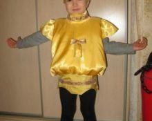 костюм самовара для детей своими руками