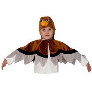 костюм воробья своими руками для мальчика