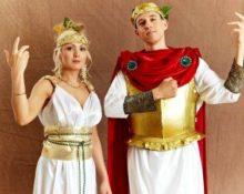 греческие костюмы