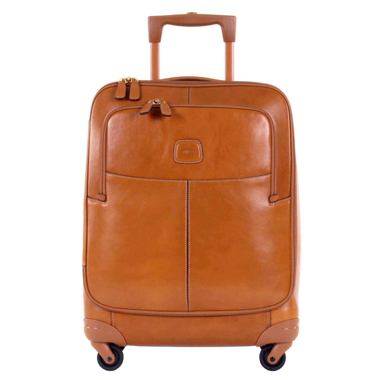 Кожаный чемодан