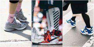 кроссовки баленсиага С цветными носками