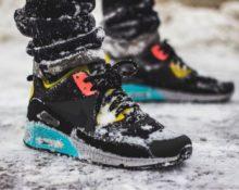 какие кроссовки можно носить зимой