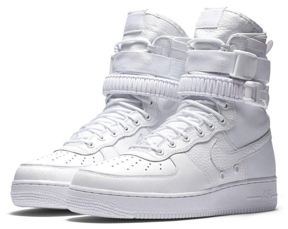 Белые высокие кроссовки - хайпоны