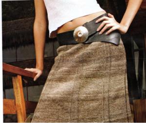 модель_1 вязаной юбки