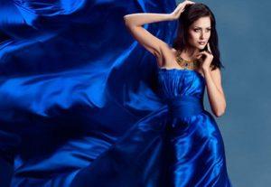 Роскошное прямое платье