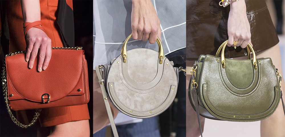 модные сумки зима 2019