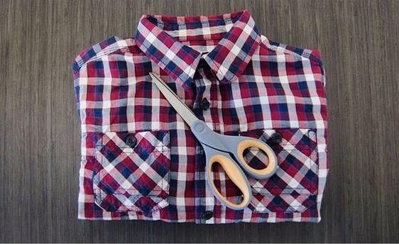 что сделать из старых рубашек