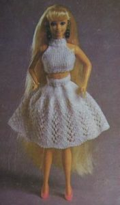 особенности юбок для кукол