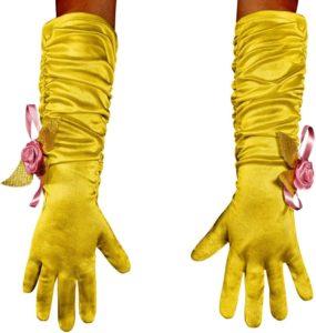 перчатки для костюма цыплёнка