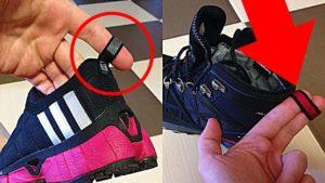зачем петелька на кроссовках