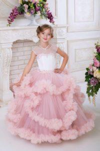 платье облако для девочки сшить своими руками