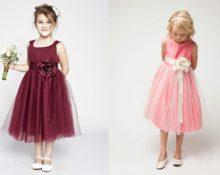 платье из органзы для девочки своими руками