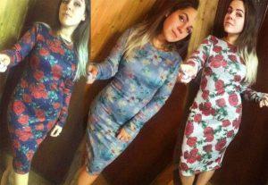 платье футляр из софта