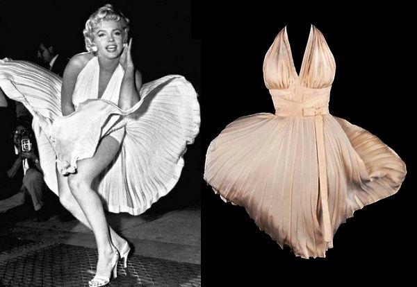 платье мерелин монро за 4,6 млн долларов