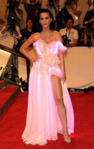 платье с подсветкой на кети перри