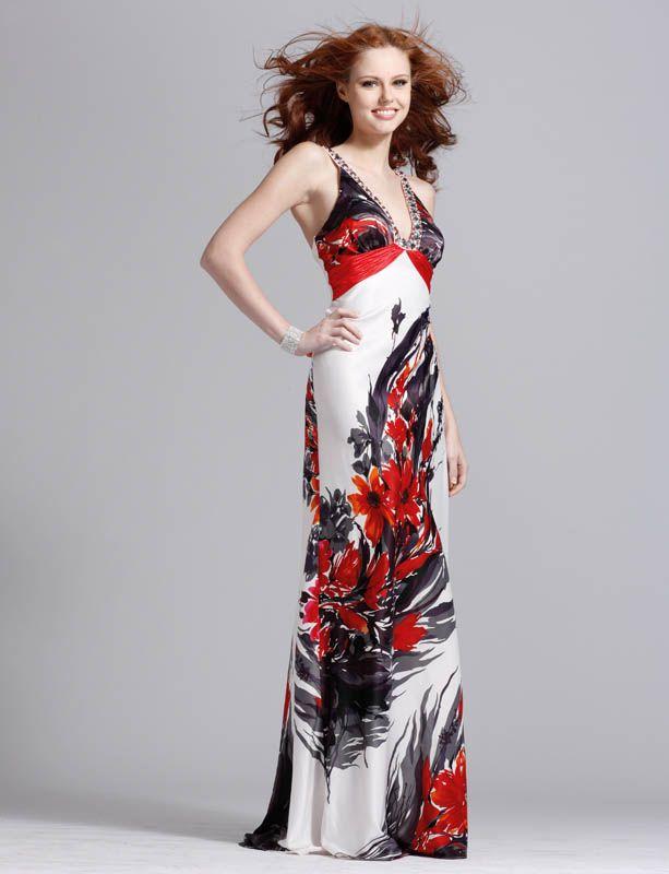 Платье сарафан цветной