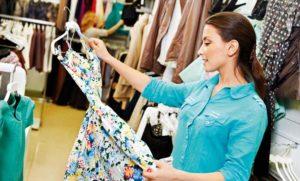 покупка платья