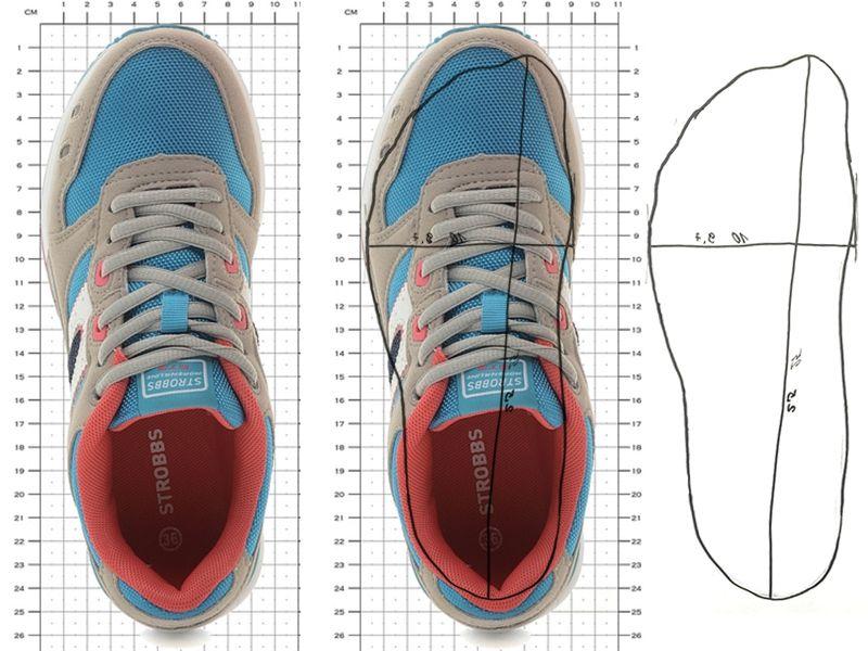 Как померить размер для кроссовок?