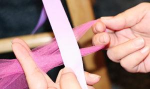 пошаговое выполнение юбки на резинке