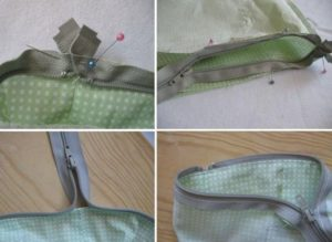 Как пришить подкладку к сумке