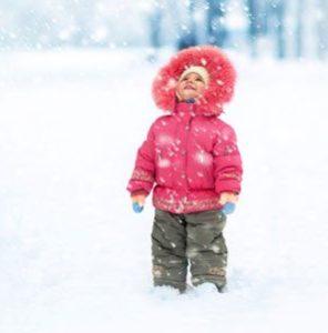 ребенок зимой упал