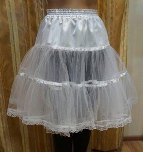 регилин в середине юбки