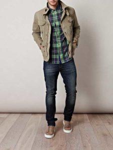 С чем носить коричневые кроссовки мужчинам
