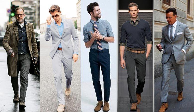 Ботинки чукка для мужчин